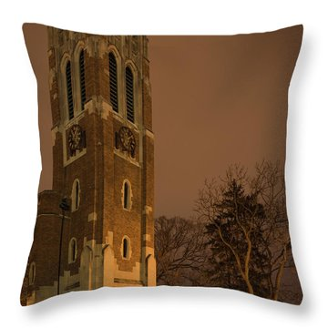Beaumont Tower Throw Pillow