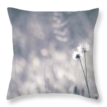 Throw Pillow featuring the photograph Beaute Des Champs - 0101 by Variance Collections