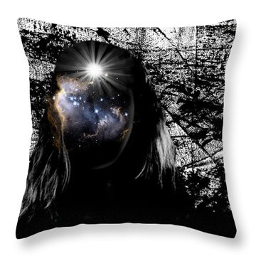 Beauties Are Things That Are Lit Inside Us Throw Pillow