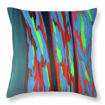 Beauties  Throw Pillow