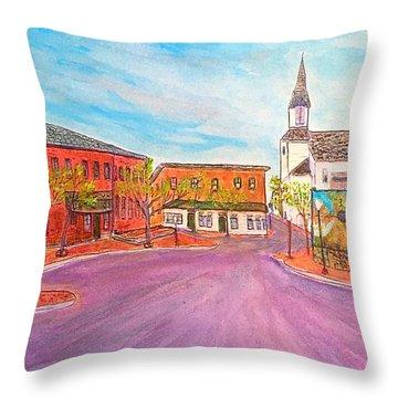 Beautiful Amesbury Throw Pillow