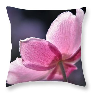 beautiful Anemone Throw Pillow