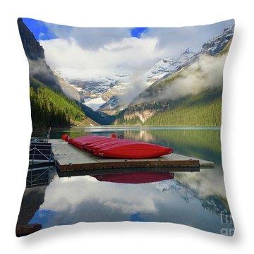 Beautiful Banff Throw Pillow