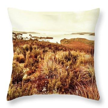 Beautiful Barren Outback Throw Pillow
