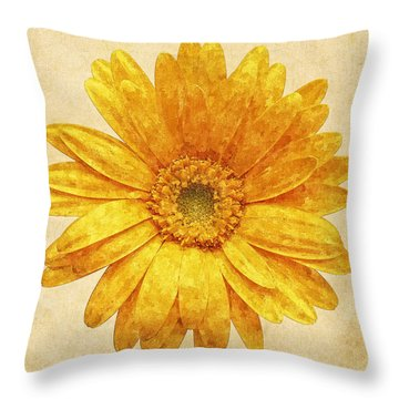 Beautiful Blossom Throw Pillow