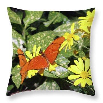 Beautiful Butterflies Throw Pillow