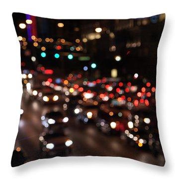 Beautiful Congestion Throw Pillow