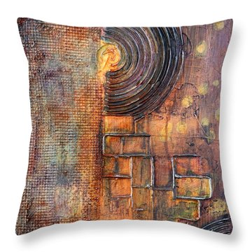 Beautiful Corrosion Throw Pillow