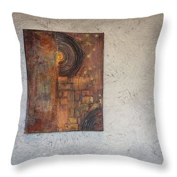 Beautiful Corrosion Too Throw Pillow