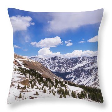 Throw Pillow featuring the photograph Beautiful Cottonwood Pass by Tim Reaves