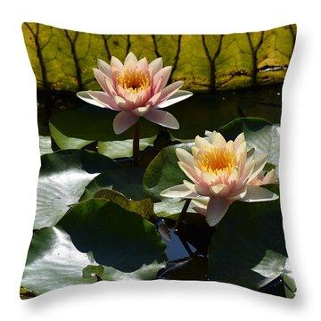 Beautiful Dainties Throw Pillow by Deborah  Crew-Johnson