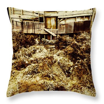Beautiful Decay Throw Pillow