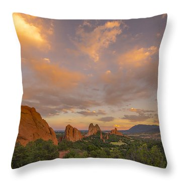 Beautiful Earth And Sky Throw Pillow