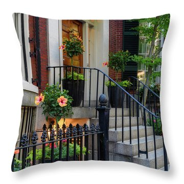 Throw Pillow featuring the photograph Beautiful Entrance by Michael Hubley