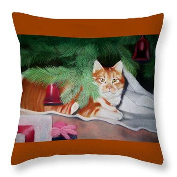 Beautiful George Throw Pillow