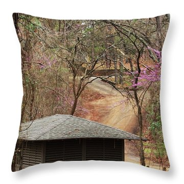Throw Pillow featuring the photograph Beautiful Get-a-way by Kim Henderson