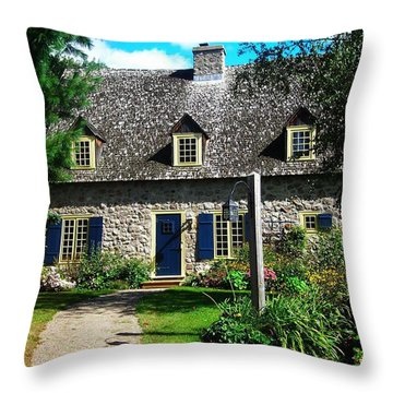Beautiful Home ... Throw Pillow by Juergen Weiss