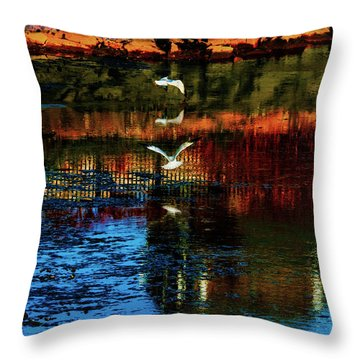 Beautiful II Throw Pillow