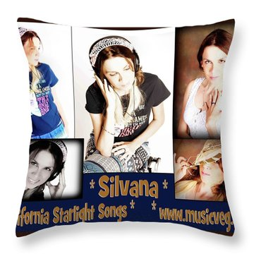 Beautiful Images Of Hot Photo Model Throw Pillow by Silvana Vienne