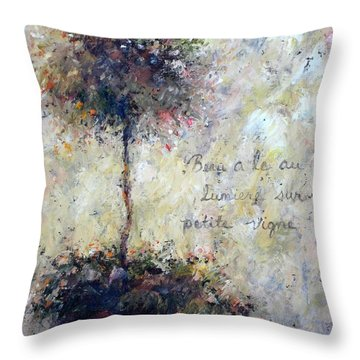 Beautiful Is The Light Throw Pillow