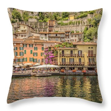 Throw Pillow featuring the photograph Beautiful Italy by Roy McPeak