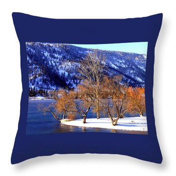 Throw Pillow featuring the photograph Beautiful Kaloya Park by Will Borden