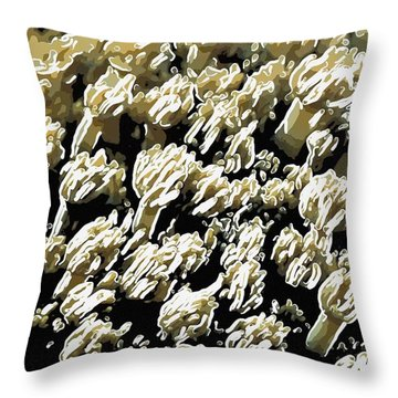 Beautiful Marine Plants 4 Throw Pillow by Lanjee Chee