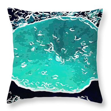 Beautiful Marine Plants 6 Throw Pillow by Lanjee Chee