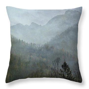 Beautiful Mist Throw Pillow