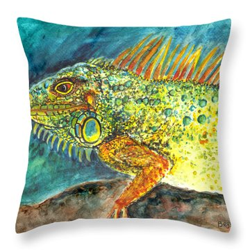 Beautiful Monster Throw Pillow