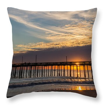 Throw Pillow featuring the photograph Beautiful Morning by Gregg Southard