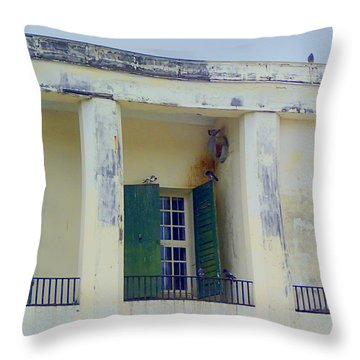 Beautiful Neglect Throw Pillow by Lois Lepisto