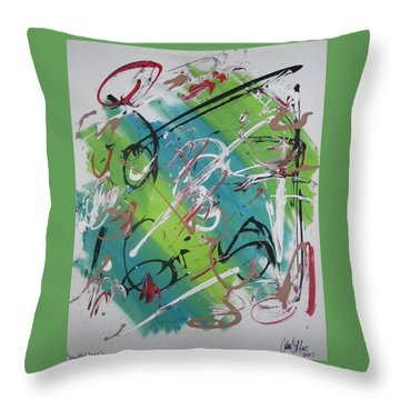 Beautiful Noise Throw Pillow