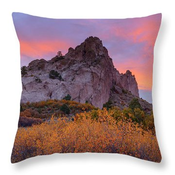 Beautiful October Throw Pillow