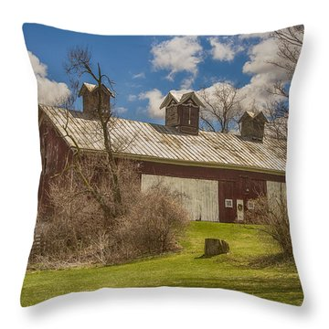 Beautiful Old Barn Throw Pillow