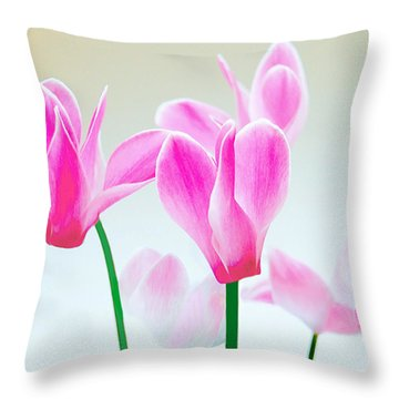 Beautiful Pink Throw Pillow