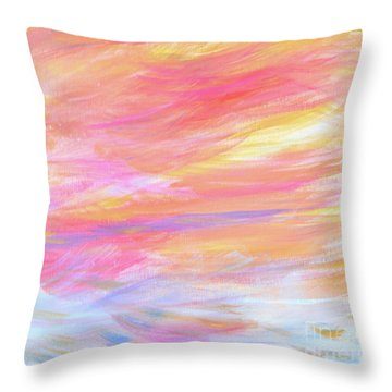Beautiful Possibilities - Contemporary Art Throw Pillow