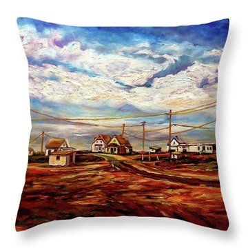 Beautiful Prince Edward Island Maritime Canada Throw Pillow by Carole Spandau