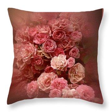 Beautiful Roses 2016 Throw Pillow