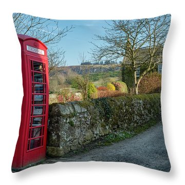 Throw Pillow featuring the photograph Beautiful Rural Scotland by Jeremy Lavender Photography