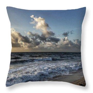 Beautiful Shore Throw Pillow