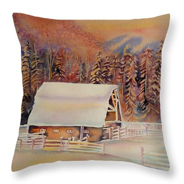 Beautiful Skies  Throw Pillow by Carole Spandau