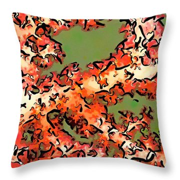 Beautiful Soft Cora 1 Throw Pillow by Lanjee Chee