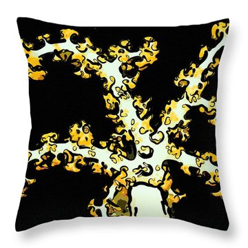 Beautiful Soft Coral 2 Throw Pillow by Lanjee Chee
