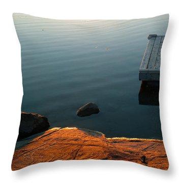 Beautiful Sunday Throw Pillow