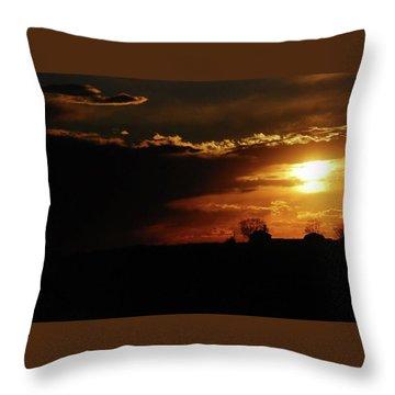 Beautiful Sunset Throw Pillow