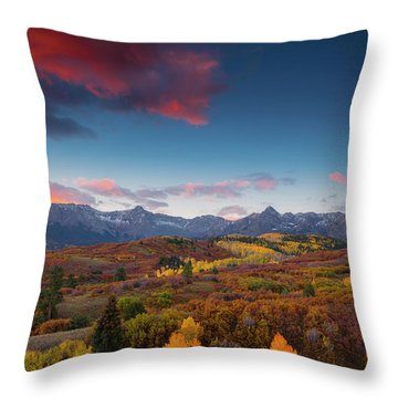 Beautiful Tints Of Autumn Throw Pillow