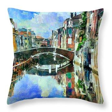 Beautiful Venice Throw Pillow