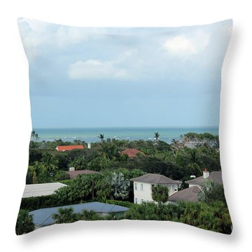 Beautiful Vero Beach Florida Throw Pillow