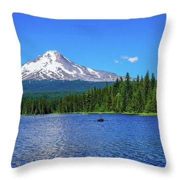 Beautiful View Throw Pillow